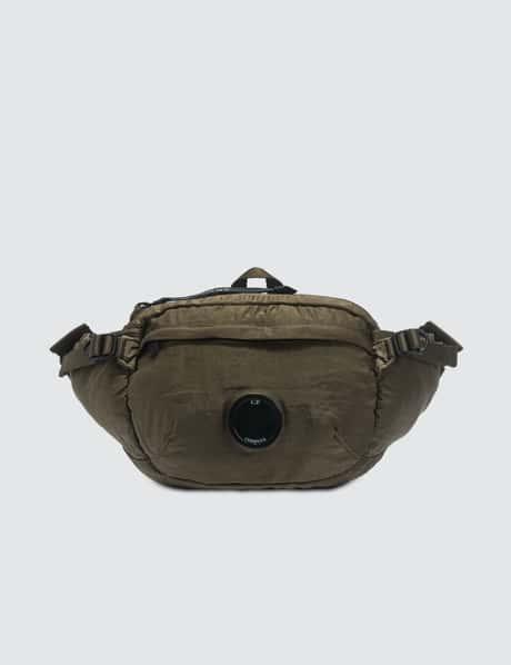 CP 컴퍼니 렌즈 벨트백 CP Company Garment Dyed Nylon Sateen Lens Waist Bag