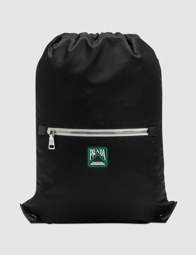 2f5b0d4d1660 Prada - Nylon Logo Drawstring Backpack | HBX
