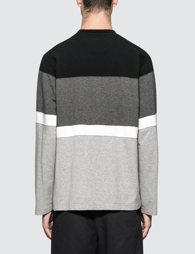 White Mountaineering Contrasted Sweatshirt Black Men