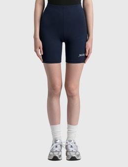 Sporty & Rich Rizzoli Biker Shorts