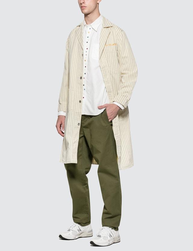 SOPHNET. Color Studs B.D Shirt