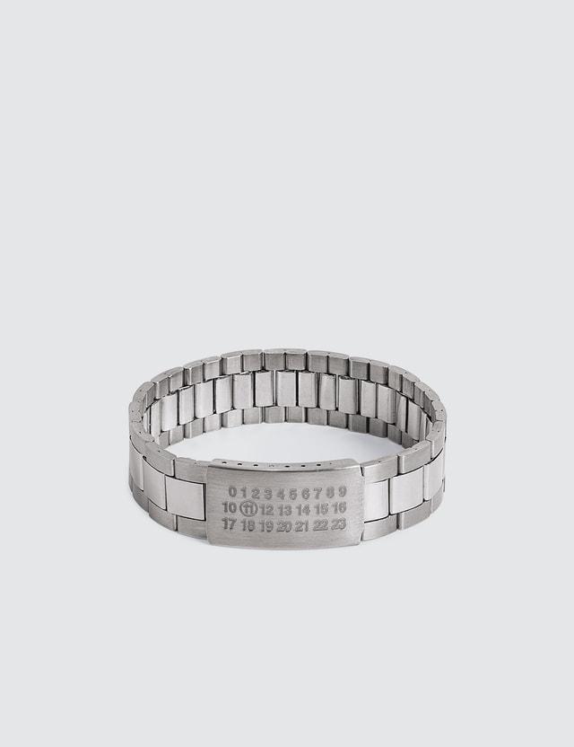 Maison Margiela Watch Strap Silver Bracelet