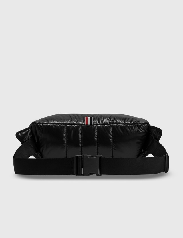 Thom Browne Ripstop Tricolor Webbing Bum Bag Black Men