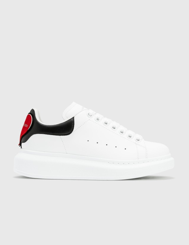 Alexander McQueen Oversized Sneakers White/black/red Women