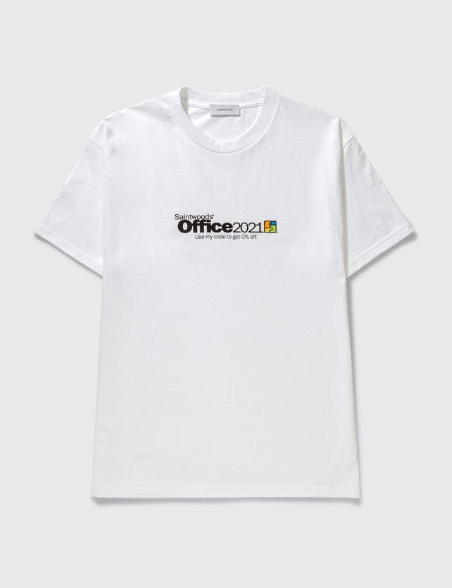 Saintwoods Saintwoods Office T-shirt White Men