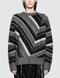 Helmut Lang Long Sleeve Ombre Crewneck Picture