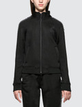 Alexander Wang.T Sleek French Terry Full-Zip Shrunken Track Jacket Picture