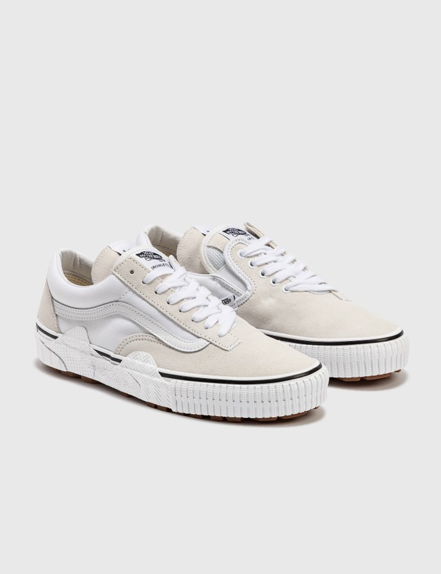Vans Cap Mash Lo LX (suede/canvas) White/white Men