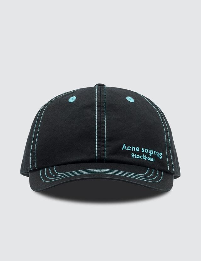 Acne Studios Logo Embroidered Cap