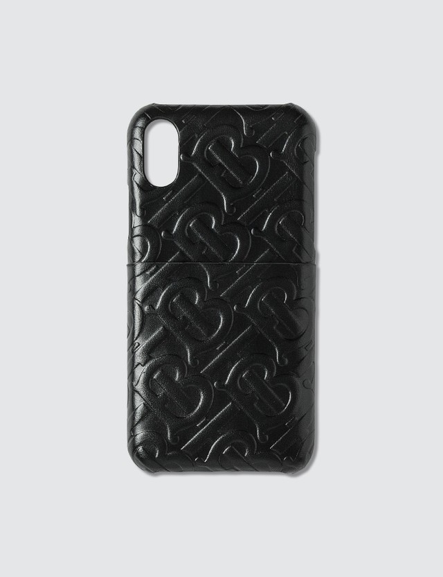Burberry Monogram Leather iPhone X/XS Case
