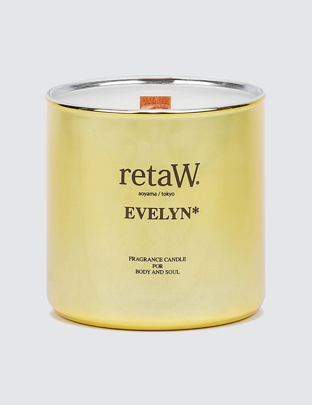 Retaw Evelyn Metallic Gold Fragrance Candle
