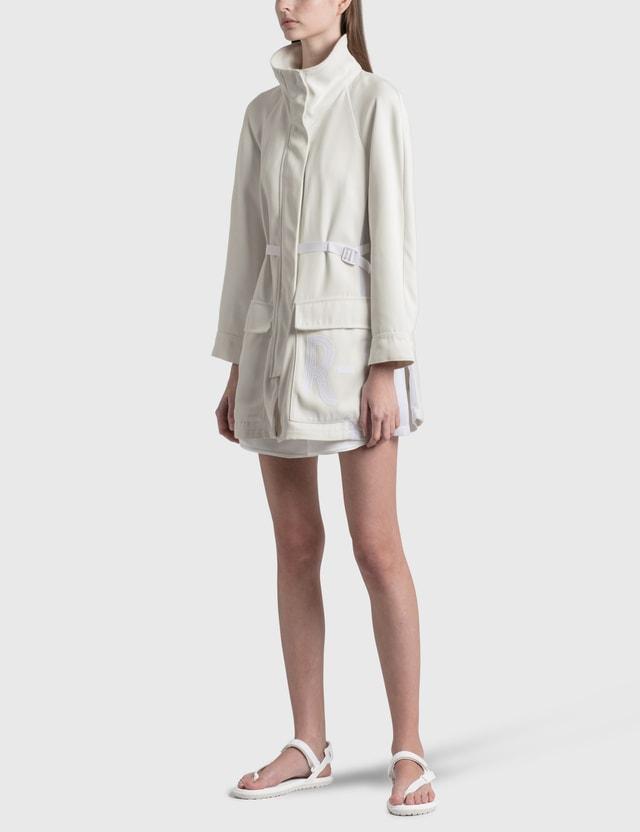 Emporio Armani Waffle Shorts Bianco Ottico Women