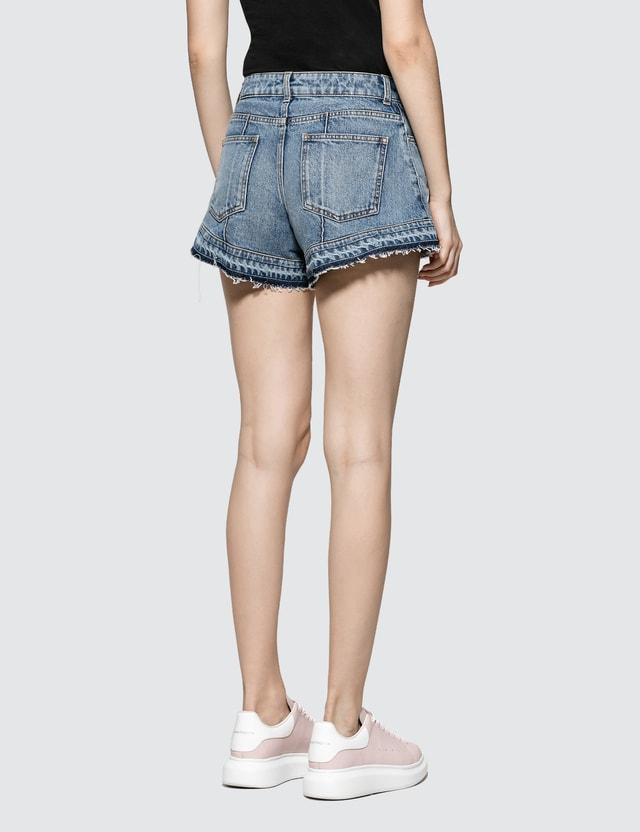 Alexander McQueen Denim Shorts