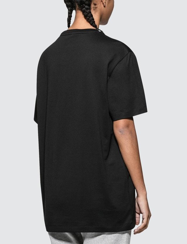 Versace Rainbow Color Logo Short Sleeve T-shirt