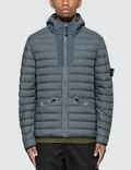 Stone Island Thin Fill Jacket With Hood Picture