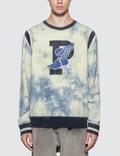 Polo Ralph Lauren Indigo Stadium P-Wing Tie Dye Sweatshirt Picture