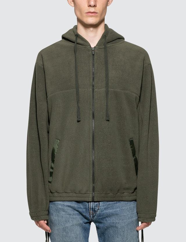 Faith Connexion Fleece Hooded Shirt