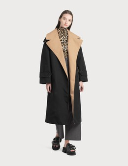 Ganni Double Cotton Coat