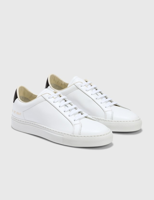 Common Projects Retro Low White/black Women
