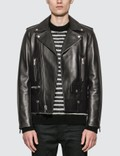 Saint Laurent Motorcycle Leather Jacket 사진