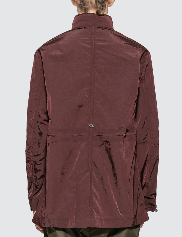 Oakley by Samuel Ross Spray Painted Jacket Dark Wine Men