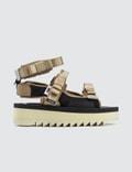 Suicoke P.A.M. X Suicoke Walk To Me Sandals Picture