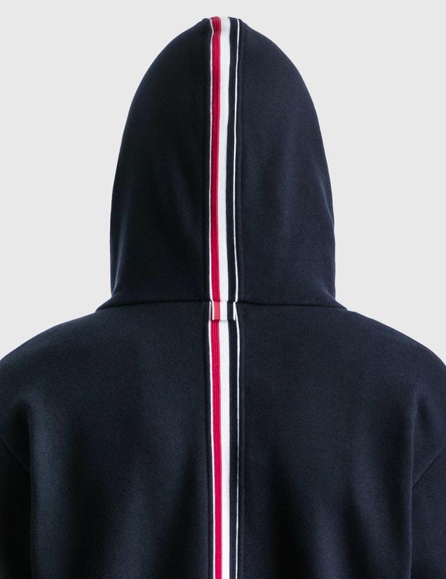 Thom Browne RWB Stripe Full Zip Jacket Navy Men