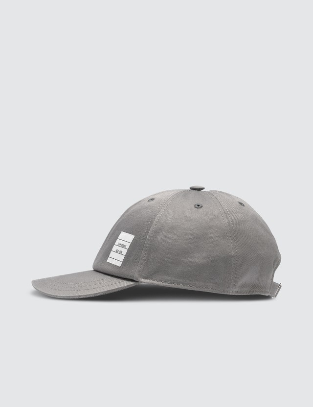 Thom Browne Classic Baseball Cap Med Grey Men