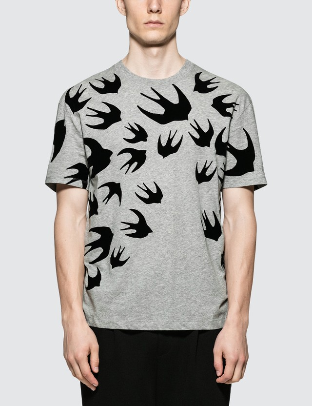 McQ Alexander McQueen Dropped Shoulder S/S T-Shirt