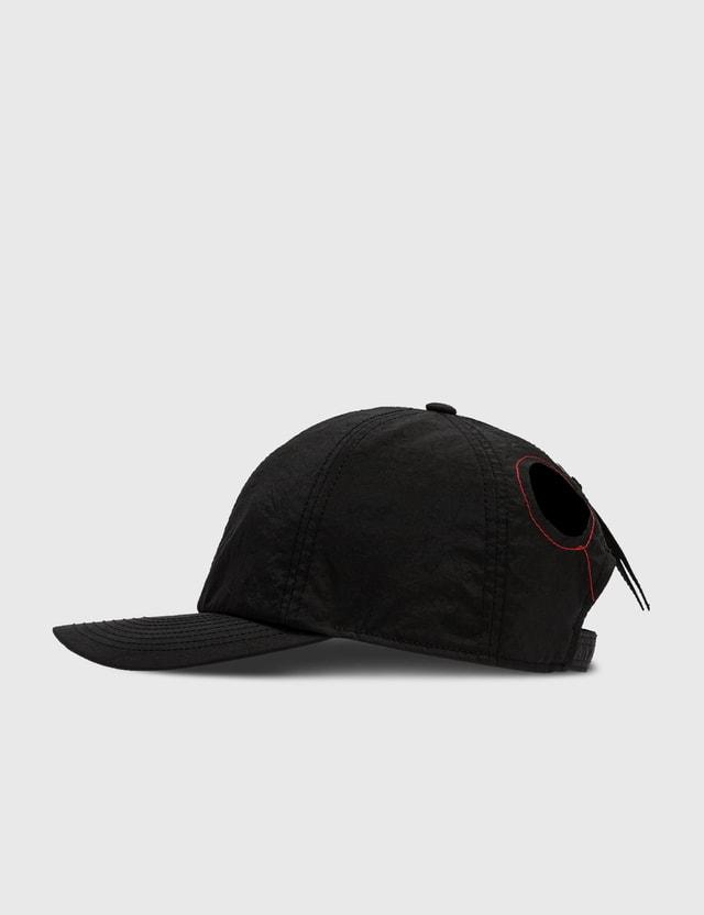 KANGHYUK Airbag Stitched Cap Black Men