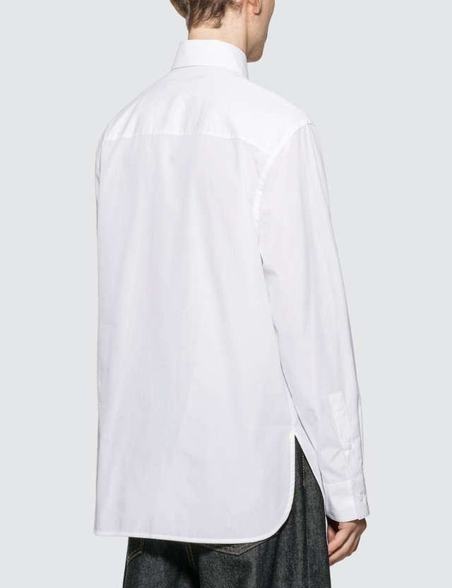 Marni Wool Patchwork Poplin Shirt