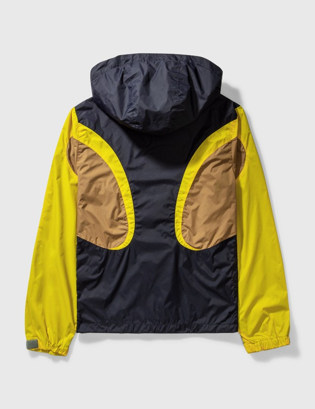 Comme des Garçons Shirt Comme Des Garçons Shirt 3 Colour Nylon Jacket Navy Archives