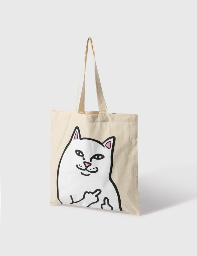 RIPNDIP Lord Nermal Tote Bag Natural  Women