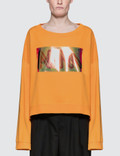 Maison Margiela Shiny Panel Sweater With Oversize Arms Picture