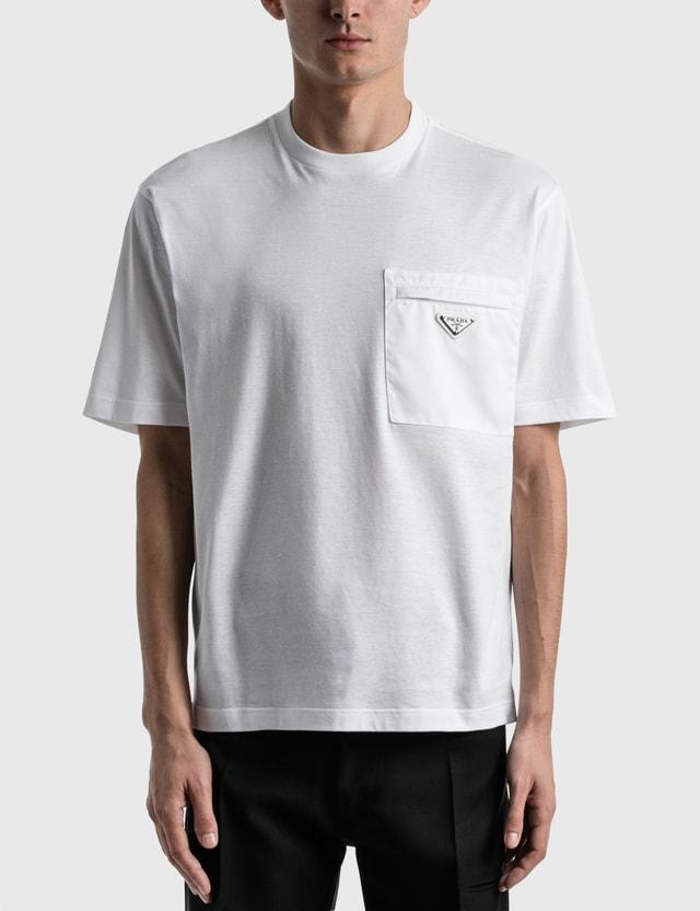 Prada Pocket T-shirt Bianco Men