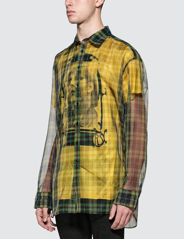 Raf Simons L/S Transparent Shirt