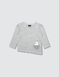 Bash+Sass Asymmetric L/S T-Shirt Picture