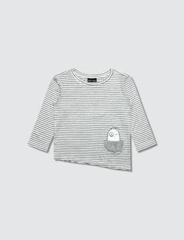 Bash+Sass Asymmetric L/S T-Shirt Picture