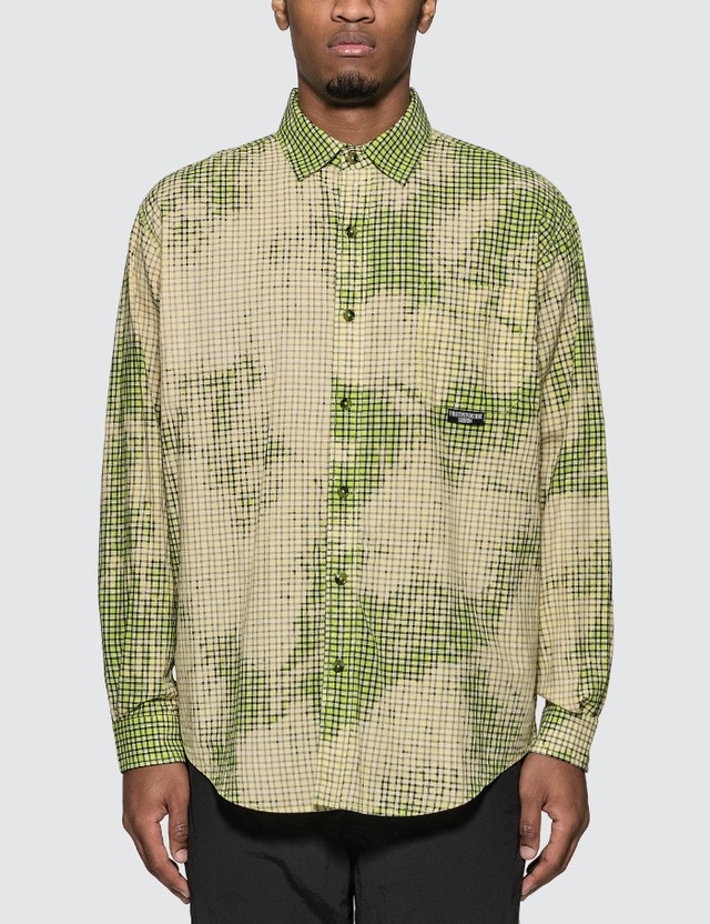 Thisisneverthat Bleach Check Shirt