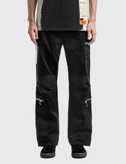 Heron Preston Military Cotton Nylon Pants