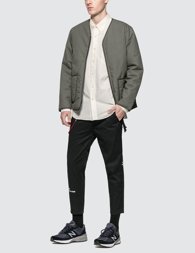 uniform experiment Reversible Zip Liner Jacket