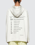 MM6 Maison Margiela Index Hoodie Picture