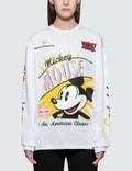 GCDS Mm Nascar Long Sleeve T-shirt Picutre