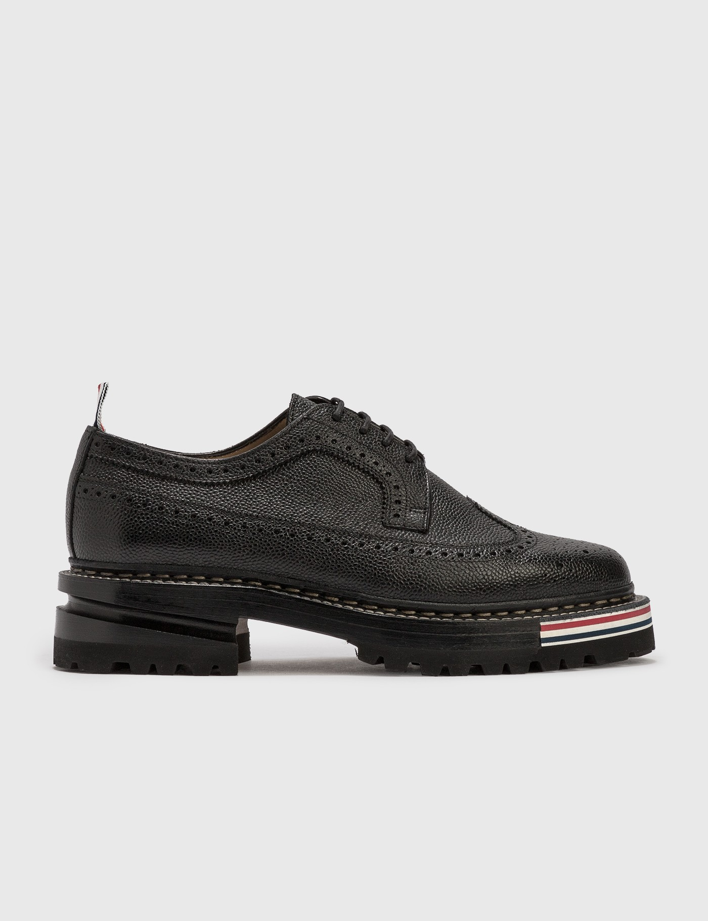 Longwing Brogue On Hiking Sole