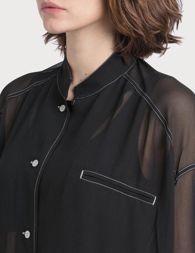 Acne Studios Shana Poly Georgette Shirt