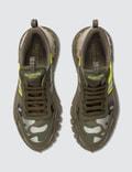 Valentino Valentino Garavani Camouflage Rockrunner Plus Sneaker A Green- Arg-lime/a Gre/duna/a Gre/a Gre Men