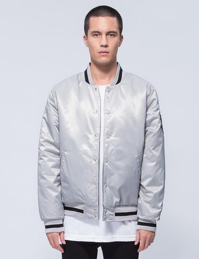 Huf Easy Reversible Satin Jacket