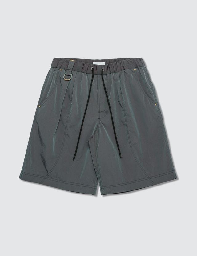 John Elliott CAT x JE Iridescent Nylon Running Shorts