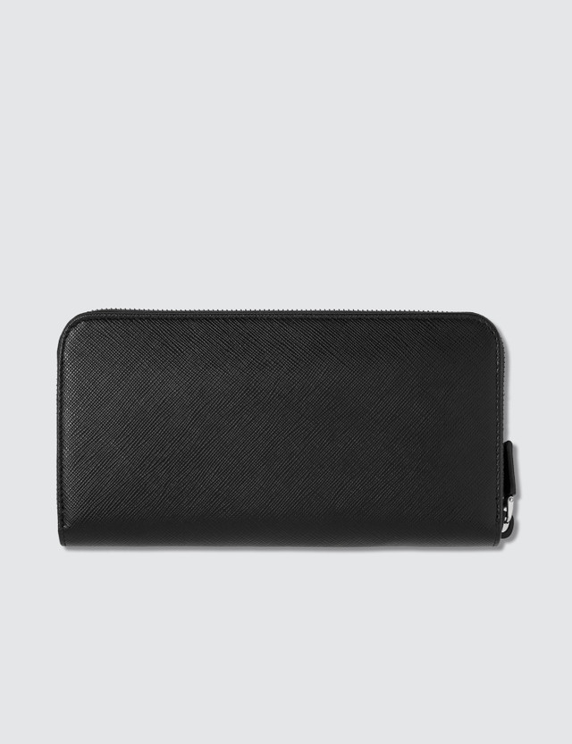 Prada Travel Zip Wallet