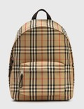 Burberry Vintage Check Nylon Backpack Picture